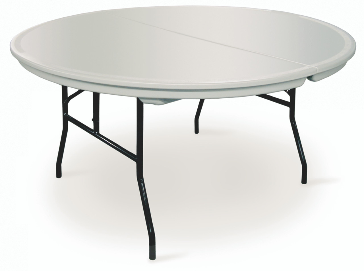 7bb95d12970 Commercialite Round Plastic Folding Table-USA Made (MC-C-ROUND) ...