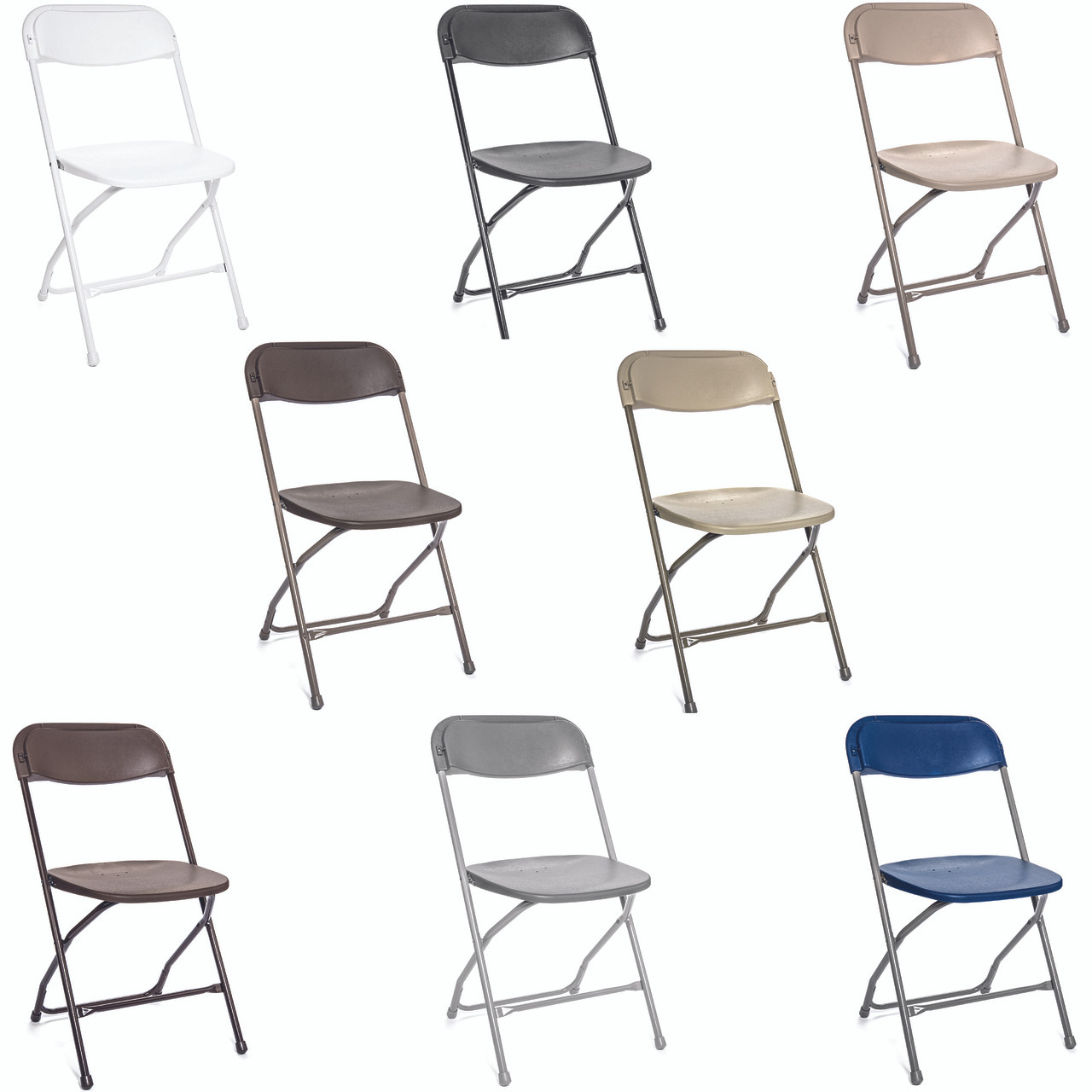 Wondrous Rhino Series Plastic Folding Chair 800 Lb Static Tested Perfect For Events And Party Rentals Durable Easy Storage And Lightweight Machost Co Dining Chair Design Ideas Machostcouk