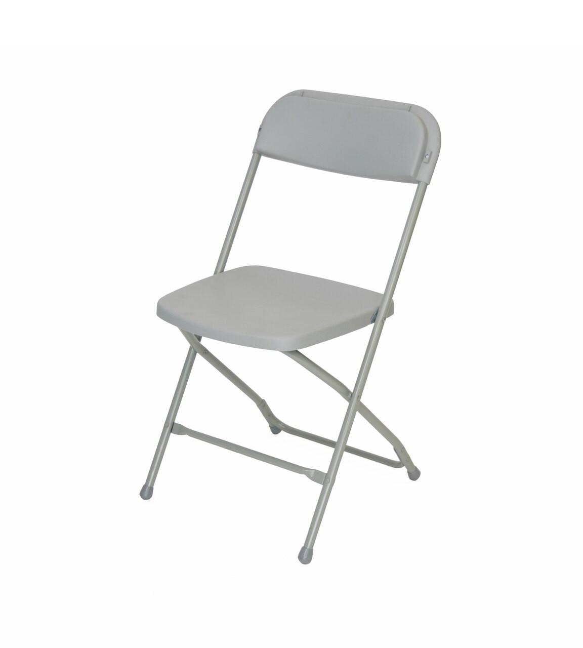 Titan Plastic Folding Chair Premium Rental Style - 730lb Capacity