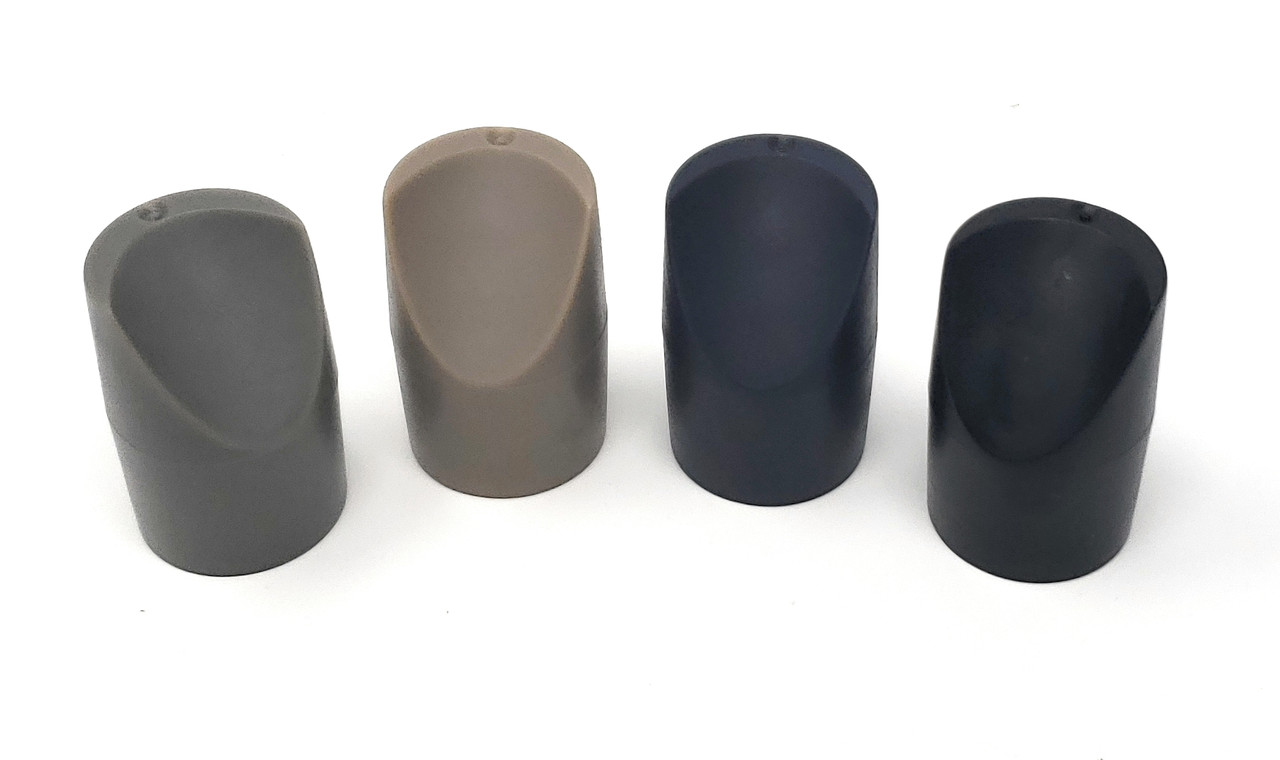 Folding Chair V-Tip Stabilizer Caps (100 Pack) - Fits 7/8