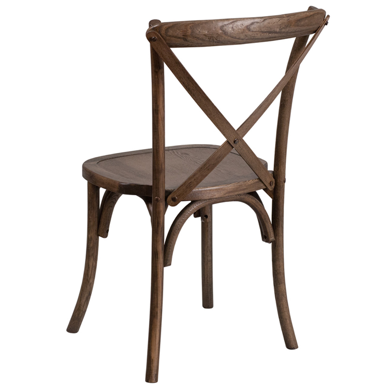 Cool Hercules Series Wood Cross Back Chair 400Lb Capacity Optional Tie Back Cushion Gmtry Best Dining Table And Chair Ideas Images Gmtryco