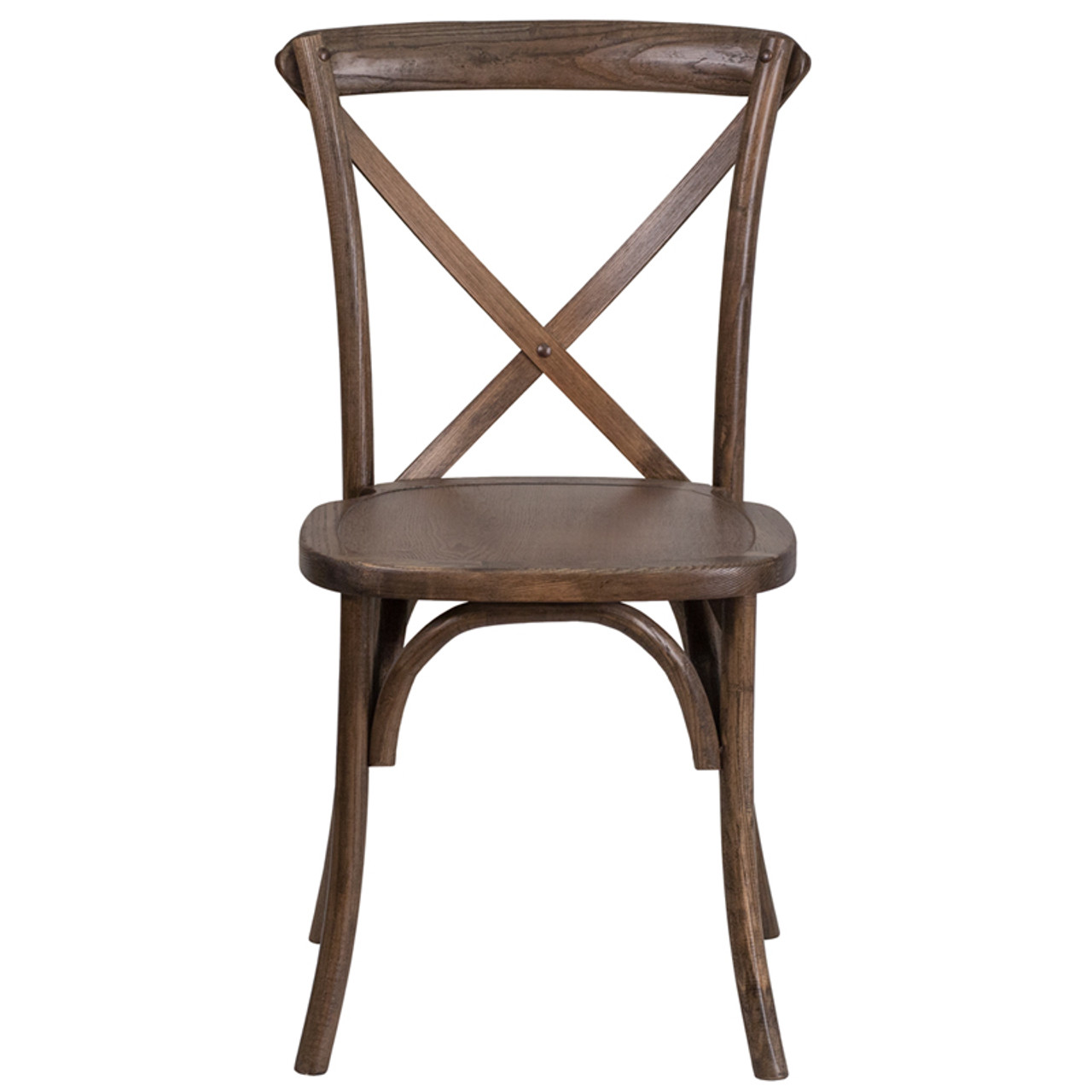 Astounding Hercules Series Wood Cross Back Chair 400Lb Capacity Optional Tie Back Cushion Gmtry Best Dining Table And Chair Ideas Images Gmtryco