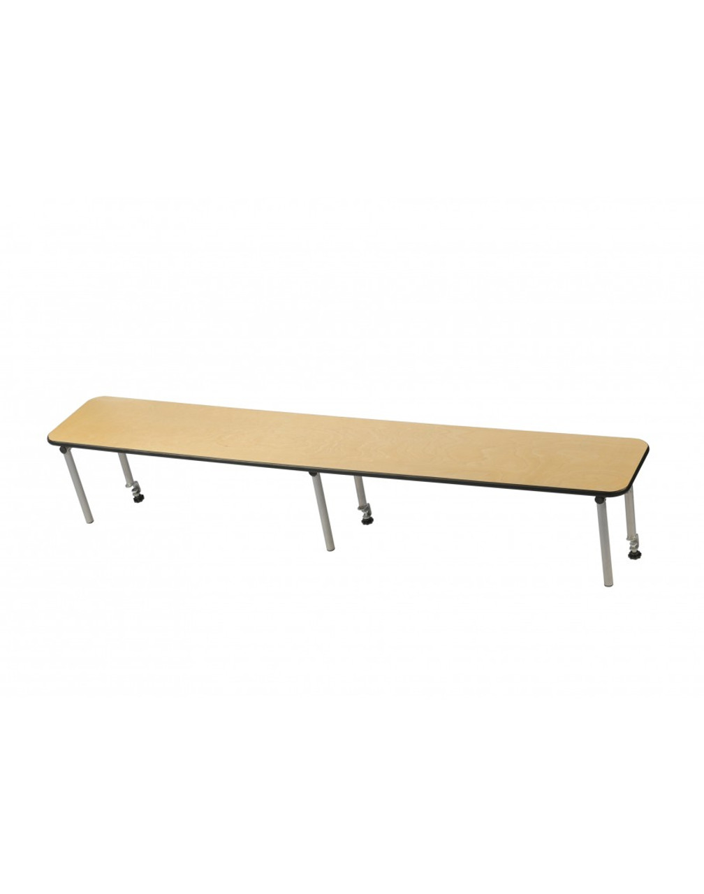 European Birch 6 Straight Bar Top Riser Foldingchairsandtables Com
