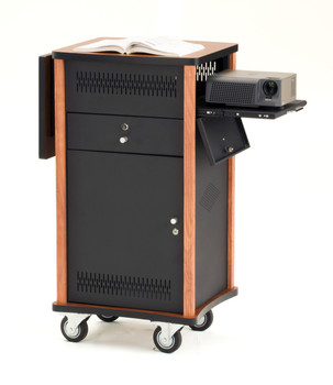 Multi Media Cart By Oklahoma Sound (OK-MMC)