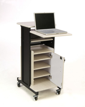 Premium Plus Presentation Cart By Oklahoma Sound (OK-PRC-250)