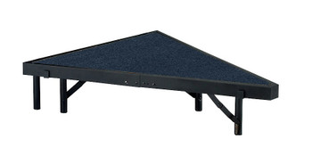 Multi-Height Carpeted Portable Performance Stage Pies By National Public Seating (NP-SPC)
