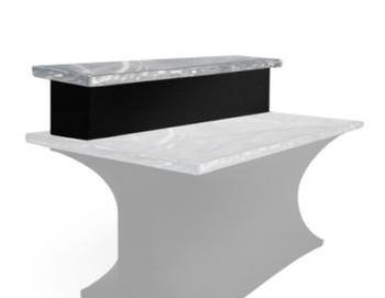 Tier Spandex Skirting for Aluminum Table Bar Riser