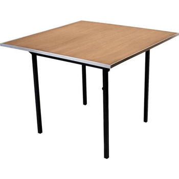 Maywood Original Series Square Plywood Hotel Folding Table-USA MADE