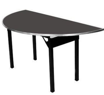 Maywood Original Series Half-Round Laminate Hotel Folding Table-USA MADE