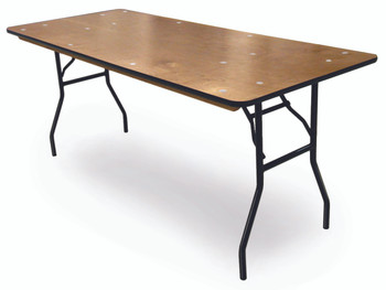 ProRent Plywood Banquet Folding Table-USA Made (MC-PR-BANQUET)