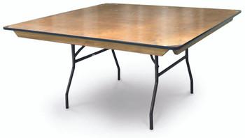ProRent Plywood Square Folding Table-USA Made (MC-PR-SQUARE)