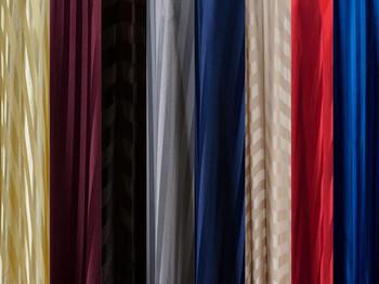 5 ft Wide Satin Stripe Drapes