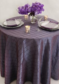 Pintuck Taffeta Tablecloth Linen