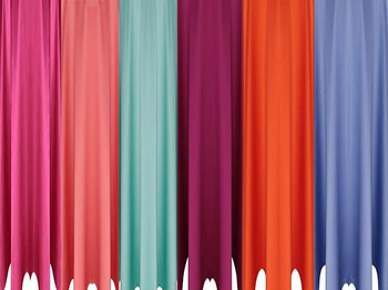 5 ft Wide Matte Satin Drapes