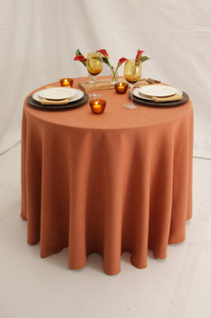 Panama Rustic Textured Tablecloth Linen