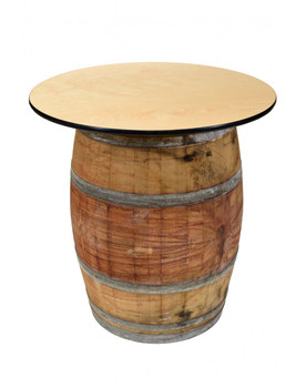 "Premier 36"" Wine Barrel Cocktail Table"