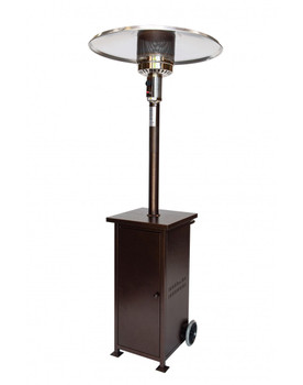 Rhino Series Collapsible 41,000 BTU/hour Output Patio Heater-Bronze