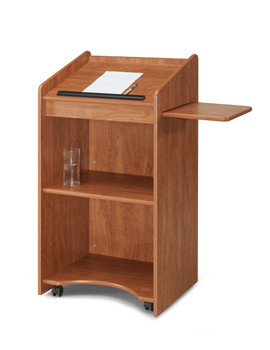 Aristocrat Floor Lectern By Oklahoma Sound (OKS-600) Cherry