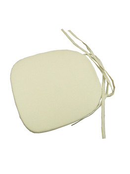 """1"""" Slip Cover Cushion with Tie Back"""