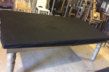 "black farm table cover 48""x96"""