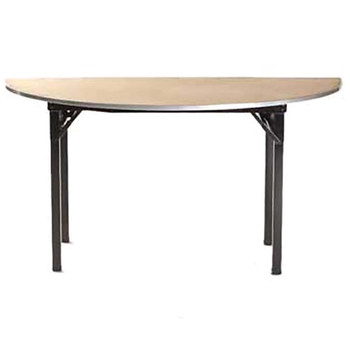 Maywood Half-Round Original Series Plywood Hotel Folding Table-USA Made