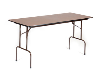 "Correll 30""W x 72""L (6 ft) Counter Height (36""H) 3/4"" Top High-Pressure Laminate Folding Table (CL-CFS3072PX-01)"