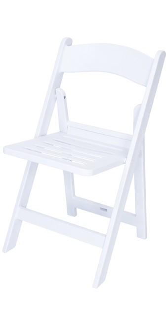 Brilliant Rhino White Slatted Resin Folding Chair 100 Virgin Resin Resistant To Warping Fading Ibusinesslaw Wood Chair Design Ideas Ibusinesslaworg