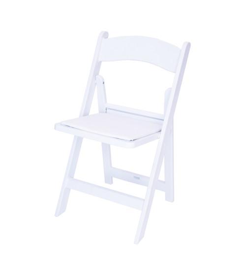 Rhino Resin Folding Chair - 1000 lb. Capacity - Wedding Garden Style