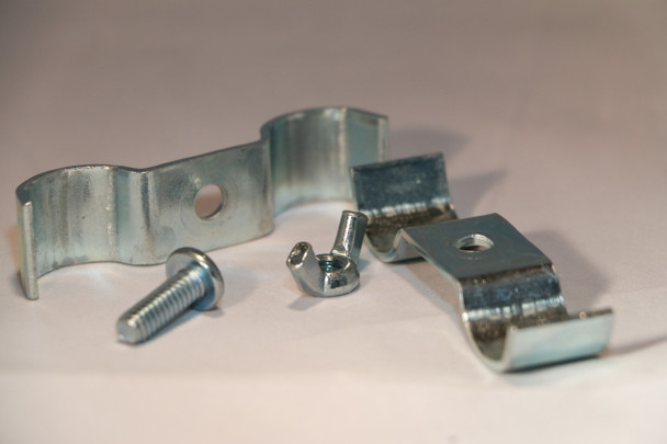 "Sold Individually - Removable Metal Ganging Clamp for 7/8"" Folding Chairs"