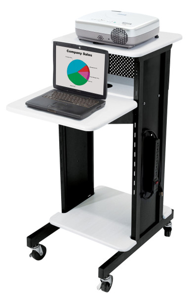 Premium Presentation Cart By Oklahoma Sound (OK-PRC-200)