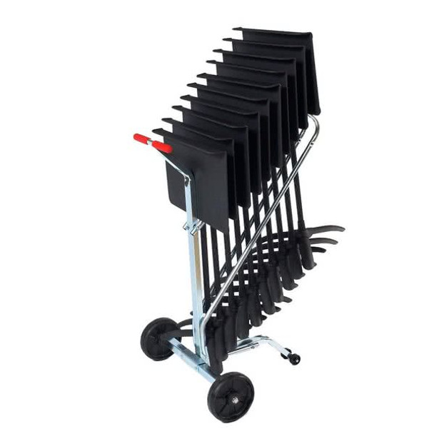 10-Capacity Music Stand Dolly For 82MS Music Stand By National Public Seating