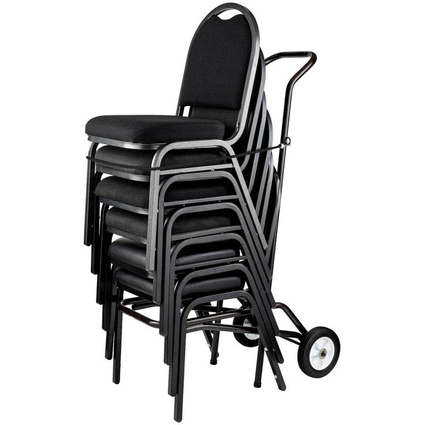 12-Capacity Banquet Stack Chair Dolly With Bungee Harness By National Public Seating