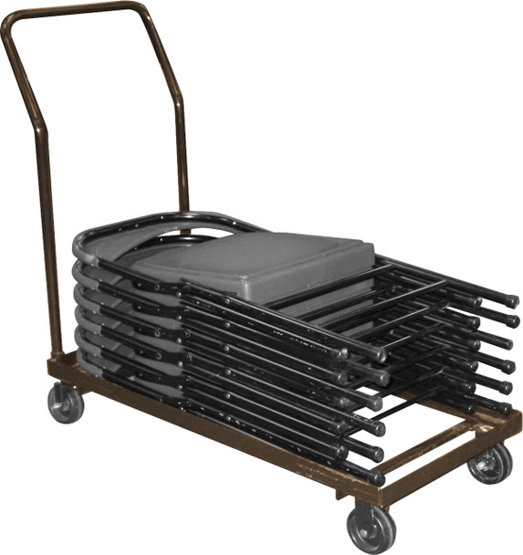 Folding Chair Dolly By National Public Seating, Model DY-800