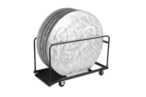 "48""Round GHD Storage Cart for Aluminum Tables"