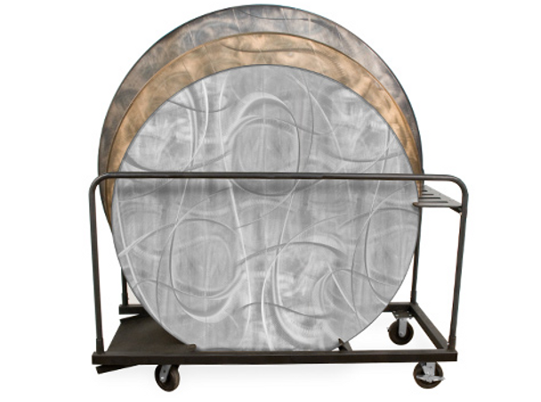 "60"", 66"", & 72"" Round GHD Storage Cart for Aluminum Tables"