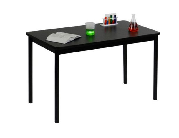 """Correll Lab Tables with High Pressure Laminate Tops 36"""" Height-USA Made"""