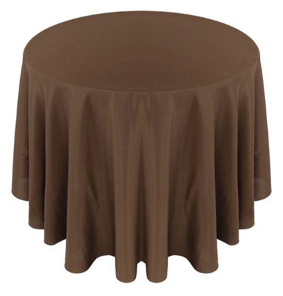 Solid Polyester Tablecloth Linen-Canteen