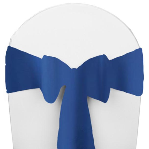 Solid Polyester Chair Sash-Royal