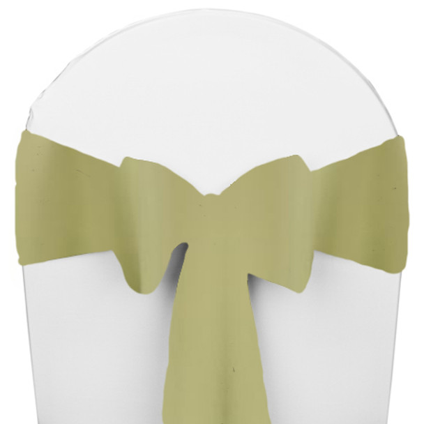 Solid Polyester Chair Sash-Clover