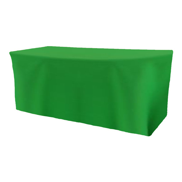 Solid Polyester Fitted Table Box Linen-Kelly