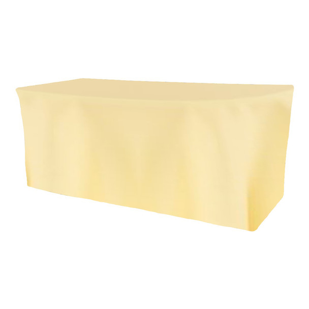 Solid Polyester Fitted Table Box Linen-Maise
