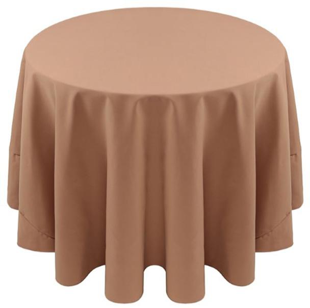 Spun Polyester Tablecloth Linen-Cafe