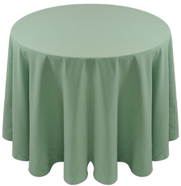 Spun Polyester Tablecloth Linen-Seamist
