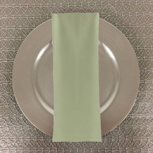 Dozen (12-pack) Spun Polyester Table Napkins-Seafoam