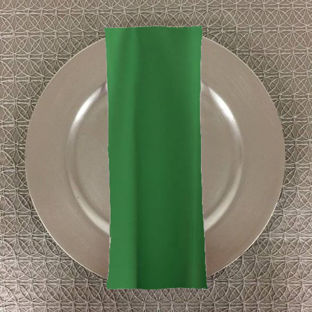 Dozen (12-pack) Spun Polyester Table Napkins-Kelly