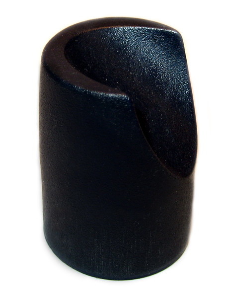 "Black Stability Cap for 7/8"" Folding Chairs"