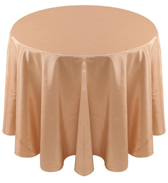 Solid Bengaline Textured Tablecloth Linen-Buttercup