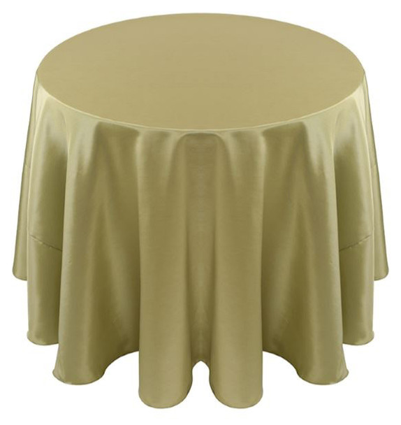 Solid Bengaline Textured Tablecloth Linen-Parsley