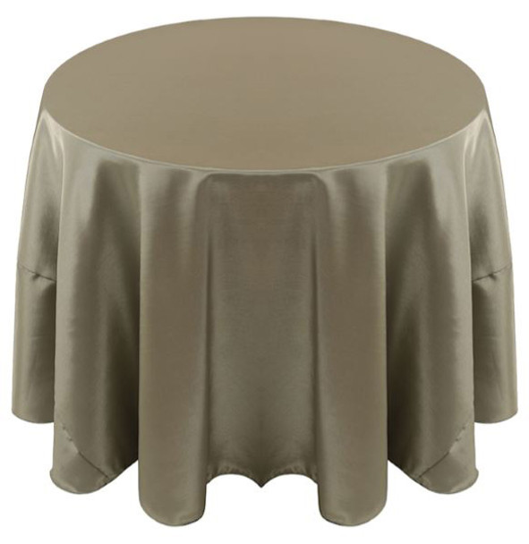 Solid Bengaline Textured Tablecloth Linen-Sage