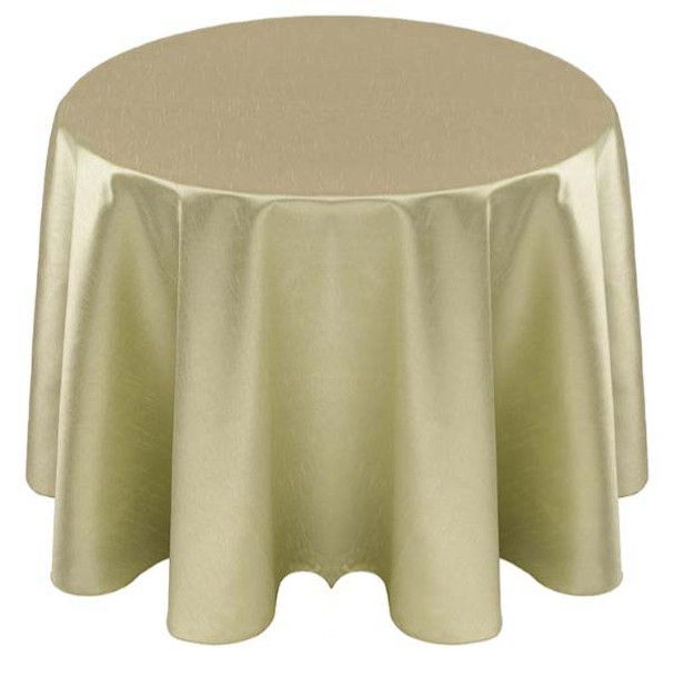 Faux Dupioni Polyester Based Tablecloth Linen-Sage